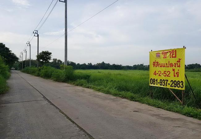 ภาพขาย ที่ดิน ซอยสุวินทวงศ์ 110 ถนนสุวินทวงศ์ เขตหนองจอก กรุงเทพมหานคร