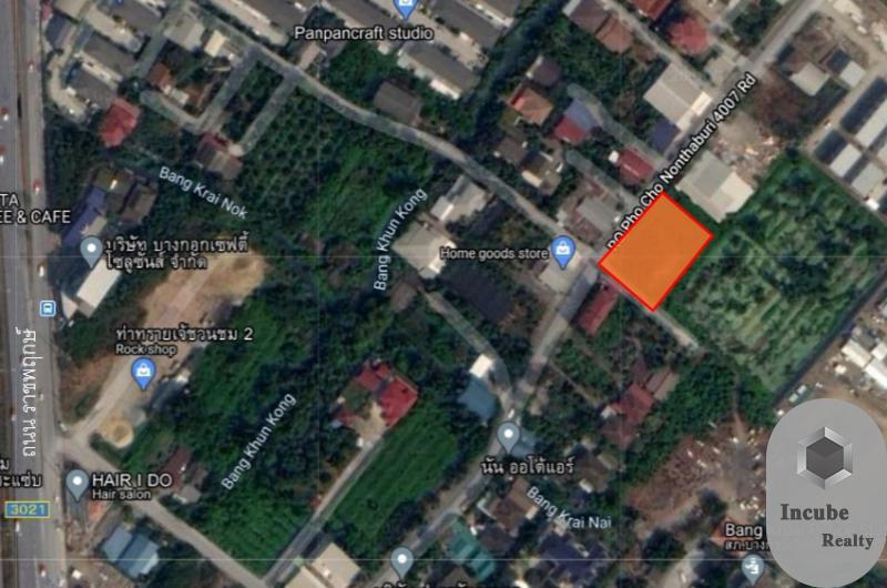 ภาพขายที่ดิน บางขุนกอง นนทบุรี 1-0-0.0 ไร่ 35 ล้าน