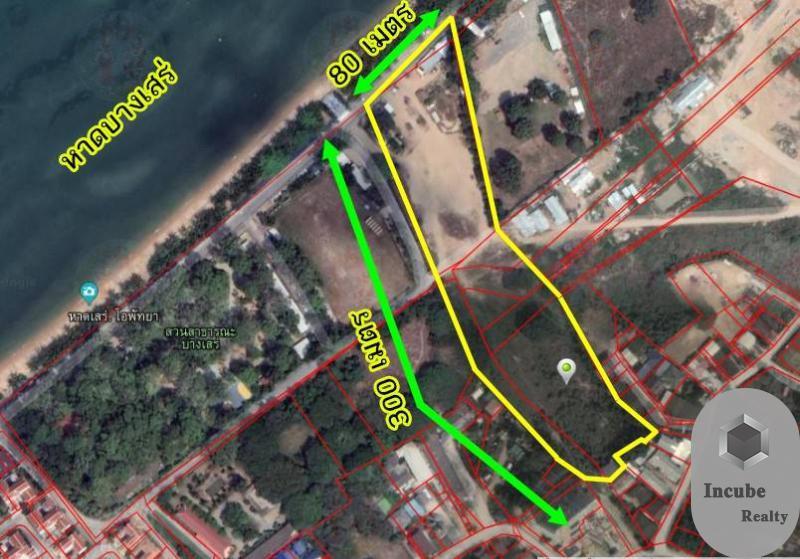 ภาพขายที่ดิน บางเสร่ ชลบุรี 11-0-56.0 ไร่ 670 ล้าน