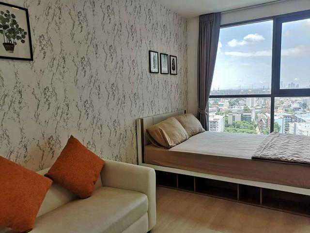 ภาพให้เช่าด่วน  Ideo Mobi Sukhumvit 81  ห้องสวย ชั้นสูง วิวเมือง ใกล้ BTS อ่อนนุช