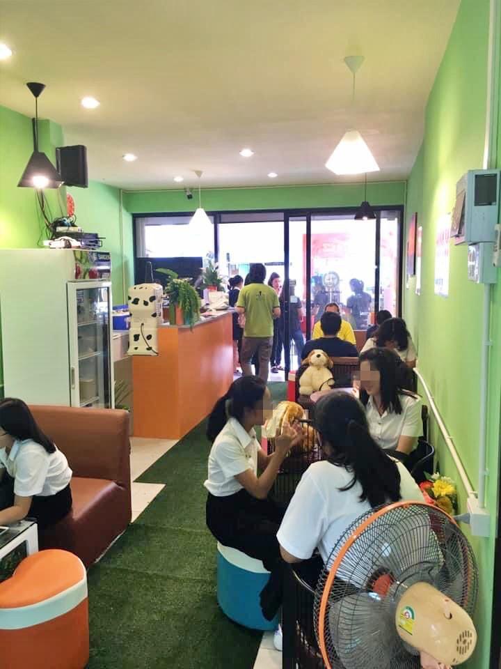 เซ้ง‼️ ร้านคาเฟ่ ชานมไข่มุก ซอยสดใส @มหาวิทยาลัยบูรพา ชลบุรี