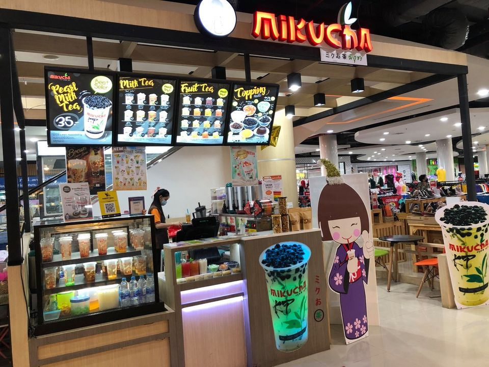 เซ้งร้าน‼️ ชานมไข่มุก มิกุชา พร้อมแฟรนไชส์ @ห้าง ck พลาซ่า (ปลวกแดง จ.ระยอง)