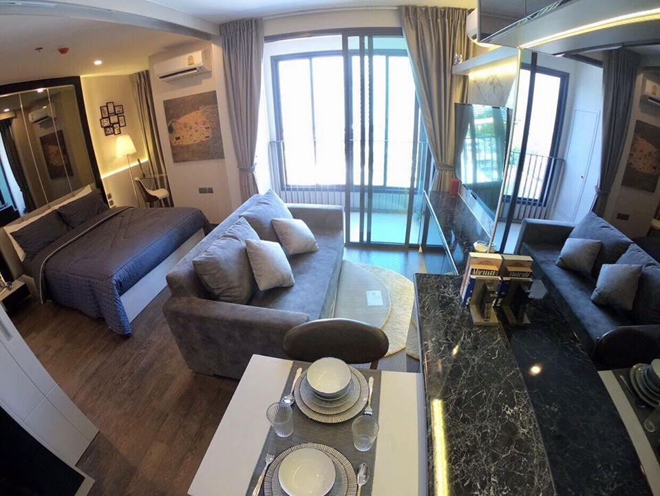 ขายขาดทุนคอนโด  IDEO Q Siam-Ratchathewi ชั้น 12 ลิฟท์ส่วนตัว