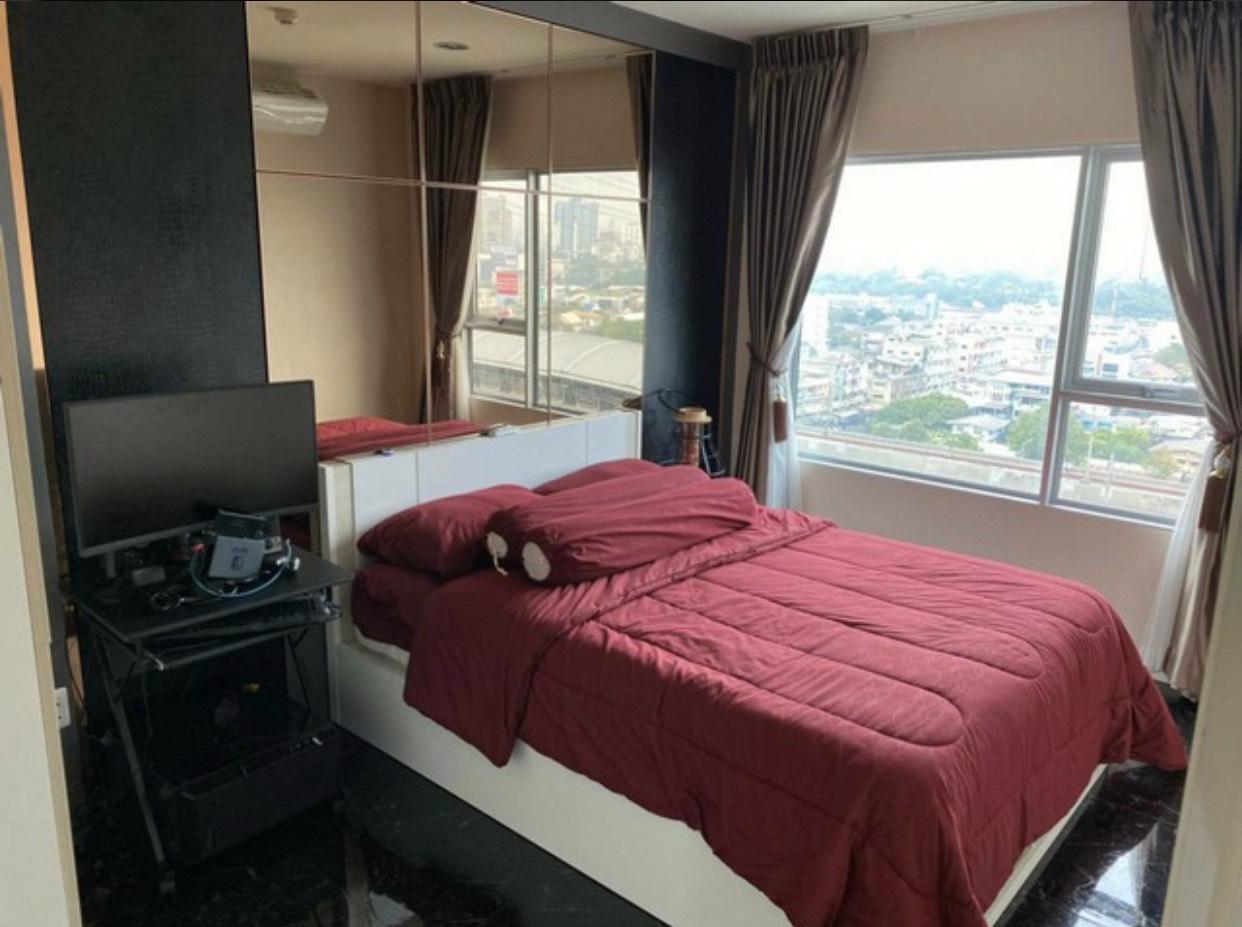 คอนโด แอสปาย รัชดา-วงศ์สว่าง ขายห้องขนาด 45 ตรม. แบบ 1ห้องนอน 1ห้องแต่งตัว พร้อมเฟอร์