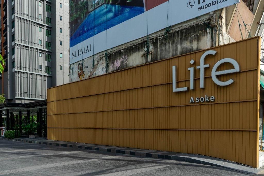 เช่า คอนโดติดรถไฟฟ้า Life Asoke 16,000 ต่อเดือน