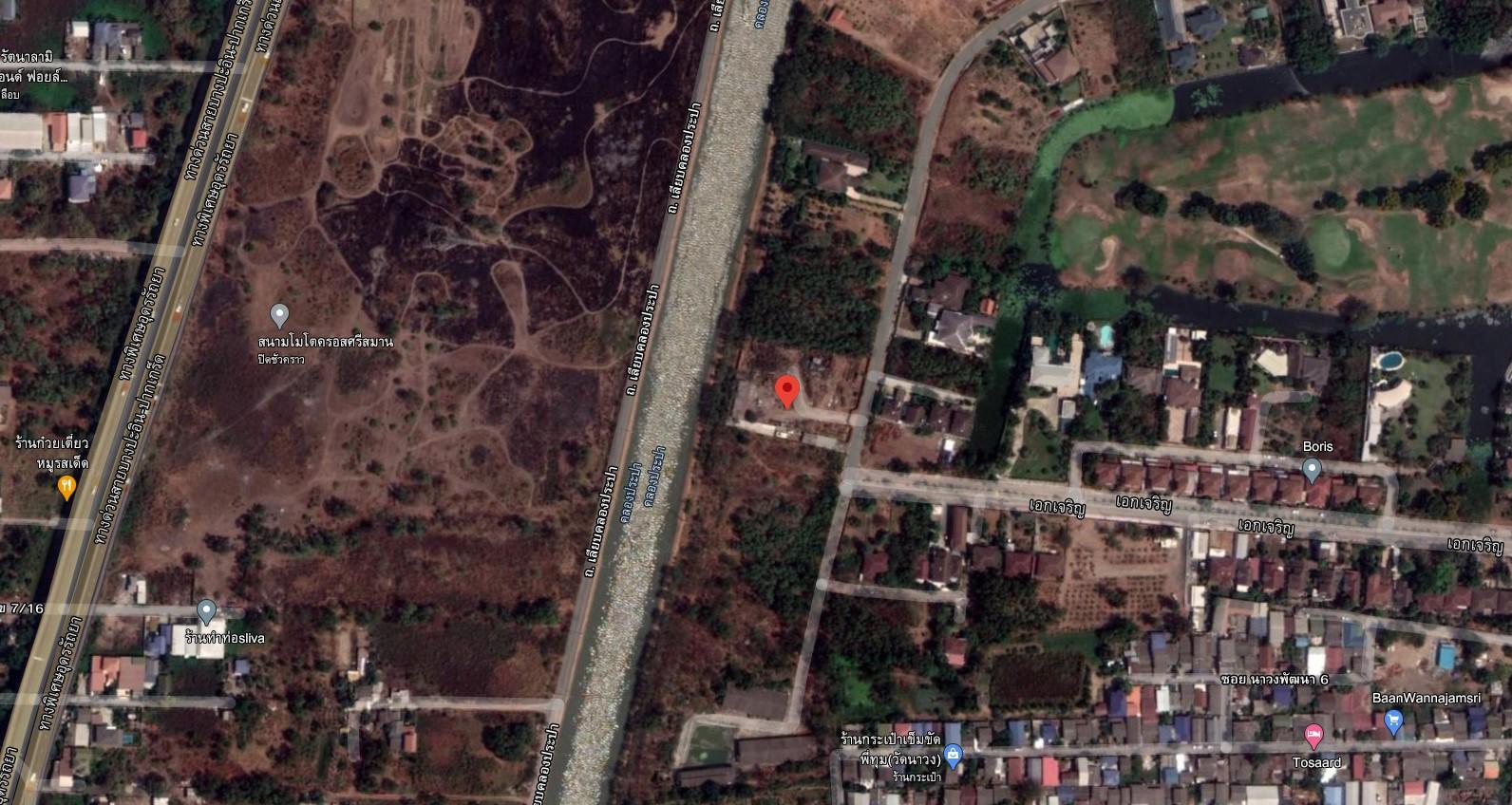 ภาพV&C L#00204-ที่ดินเปล่า เมืองเอก 1-1-69 ไร่ ถ.เอกเจริญ  ต.หลักหก อ.เมือง จ.ปทุมธานี