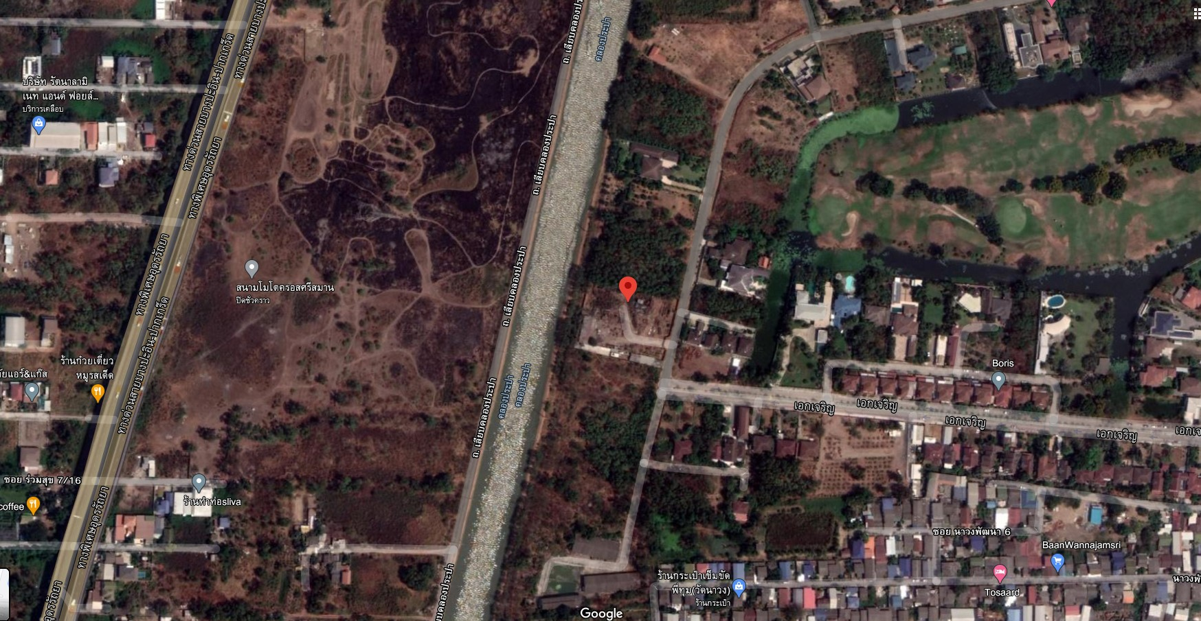 V&C L#00205-ที่ดินเปล่า เมืองเอก 1-1-52 ไร่ ถ.เอกเจริญ  ต.หลักหก อ.เมือง จ.ปทุมธานี