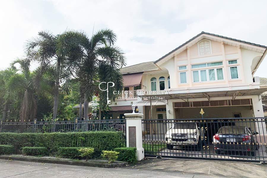 ✦ 3beds 4baths ✦ 320sqm ขาย SALE Single House Perfect Masterpiece Ekamai - Ramintra