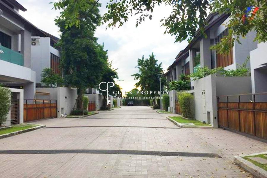 ✦ 4beds 5baths plus maid ✦ 375sqm ขาย Sale บ้านเดี่ยว 3 ชั้น Private Nirvana Residence North