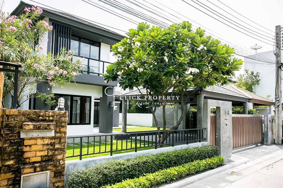 ✦ 4beds 5baths 300sqm ✦ ขาย Sale บ้านเดี่ยว 2 ชั้น Private Nirvana Residence North