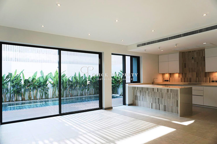 ✦ Sukhumvit House soi 49(BTS Phrom Phong-Thonglor) with private pool ✦ 4beds 5baths ขาย SALE Single