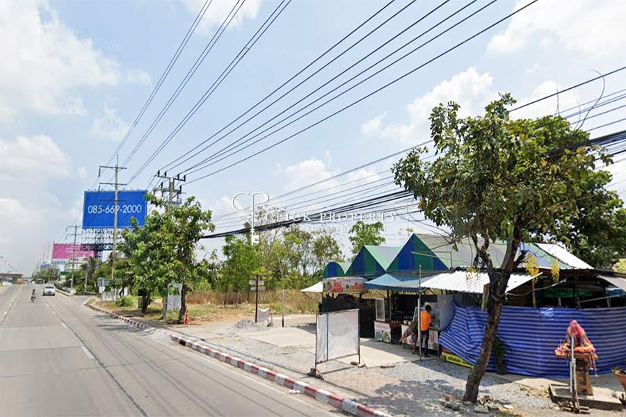 ภาพขายที่ดินกาญจนาพิเษก 4นาทีถึง เซนทรัล เวสต์เกต MRT ตลาดบางใหญ่ ติดถนนใหญ่| 20 - 2 - 62 ไร่ ทำเลดีมาก