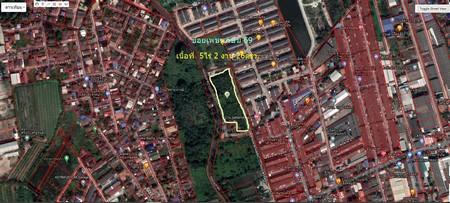 ภาพขายที่ดินเปล่า 5 ไร่ 2 งาน 26 ตร.ว ซอยเพชรเกษม 69 เขตหนองแขม กรุงเทพฯ