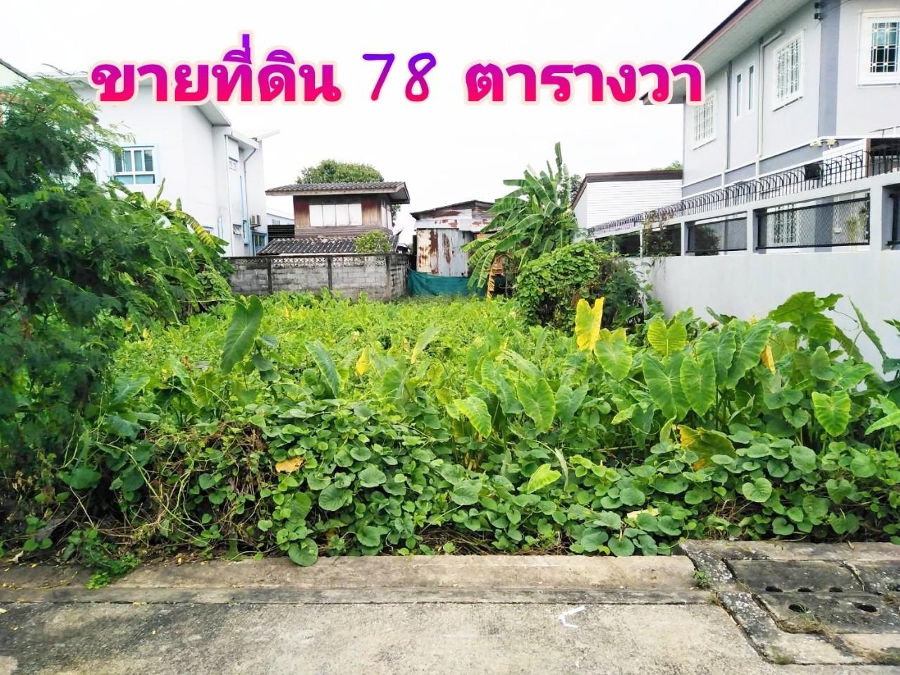 ขายที่ดินเปล่า 78 ตรว. ถนนพุทธมณฑลสาย 2 – ถนนนครลุง