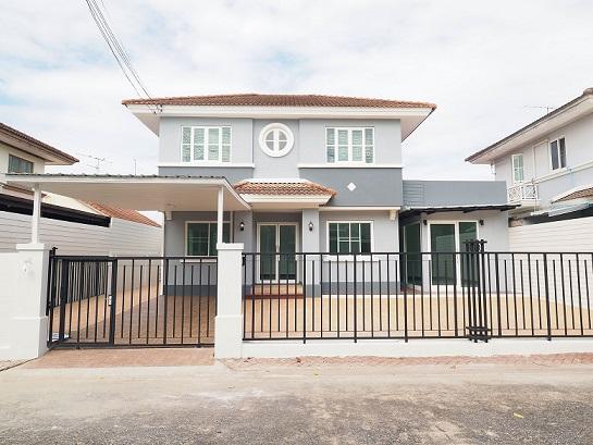 ขายราคาพิเศษ บ้านเดี่ยว 2 ชั้น หมู่บ้านปาริชาติ ขนาด 50.8 ตรว. 4นอน 3น้ำ 3จอดรถ [ราชพฤกษ์-ติวานนท์]