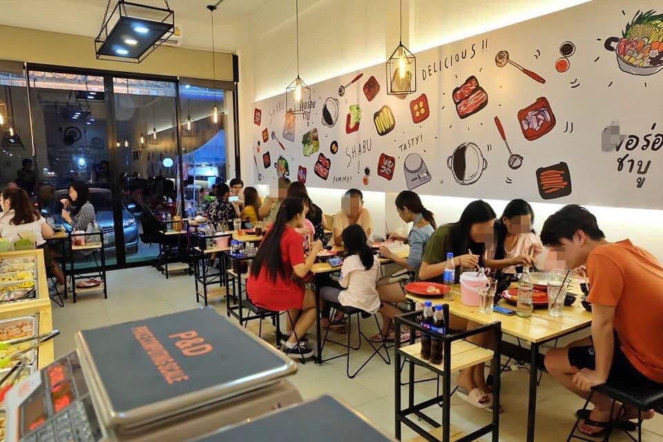 เซ้ง‼️ ร้านชาบู ตลาดคลองสี่เมืองใหม่ ใกล้เซเว่น @คลองสี่ จ.ปทุมธานี
