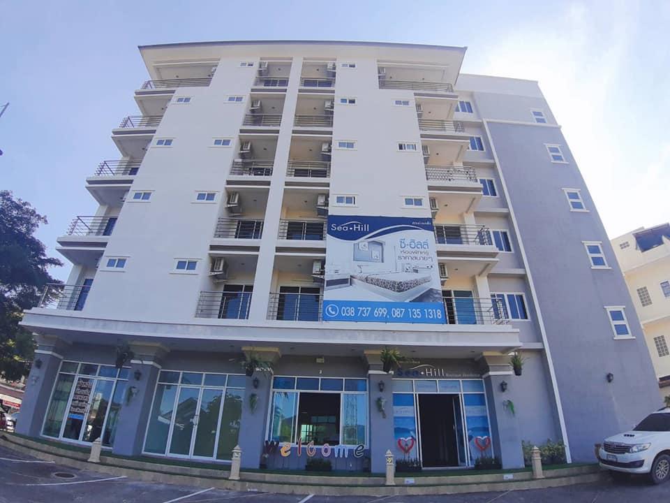 ขายอพาร์ทเมนท์ 6 ชั้น พร้อมShopให้เช่า ทำเลใจกลางตำบลบางเสร่ ใกล้ชายหาดเพียง 1 กม.