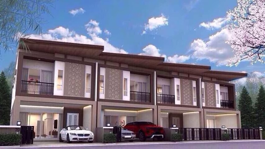 ภาพขาย/เช่า บ้านใหม่ สิปัญ วิลล์ ปลวกแดง ผ่อนบ้านให้สูงสุด 3 ปี กู้100% ฟรีโอน ดาวน์ 0% (จำนวนจำกัด)
