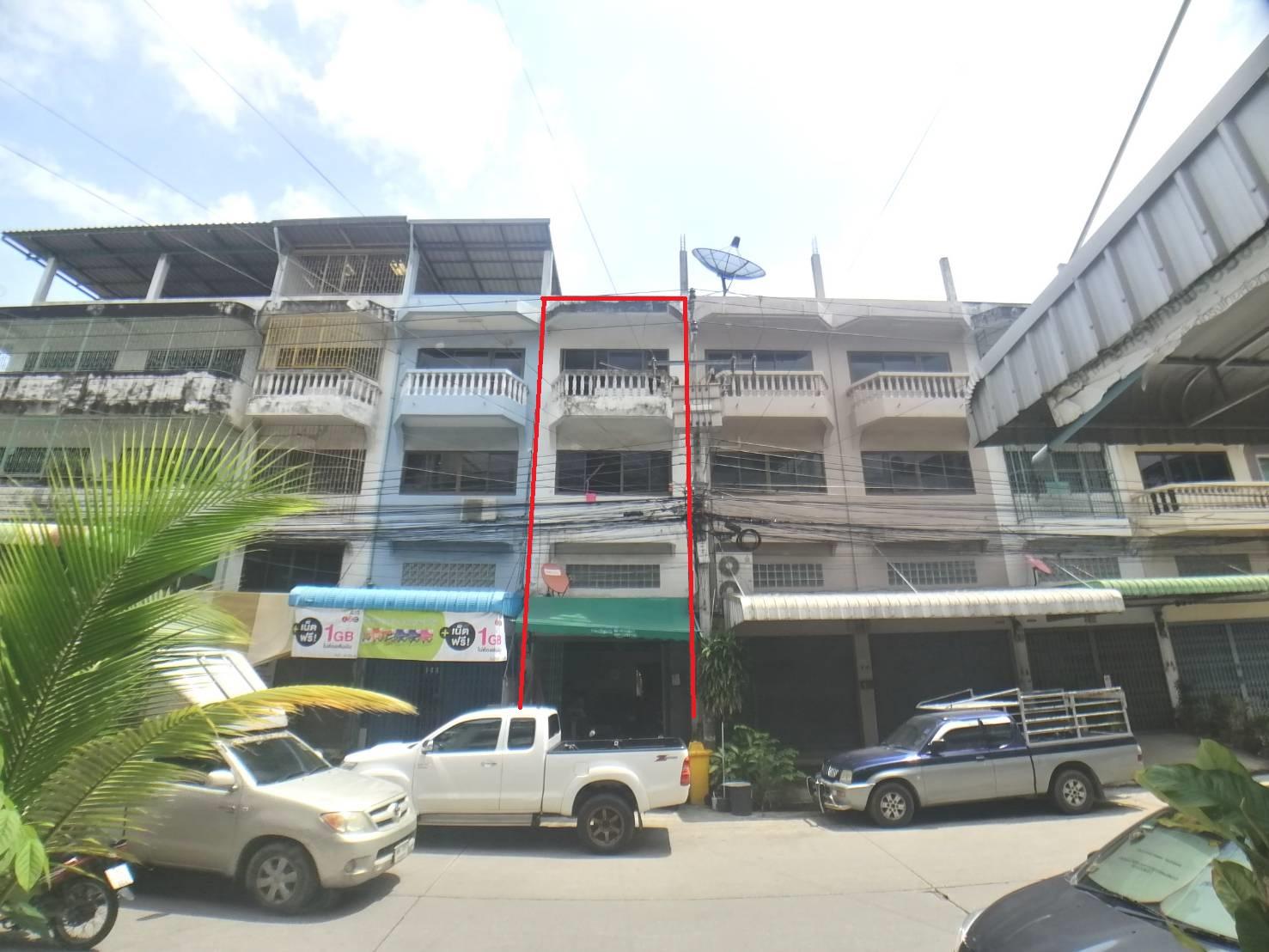 ขายอาคารพาณิชย์ พระราม 2 ซอย สะแกงาม 35/2 มั่งมีศรีสุข ใกล้ทางด่วน และโลตัส