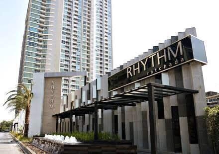 ให้เช่า คอนโด ริธึ่ม รัชดา Rhythm Ratchada ขนาดห้อง 46.50 ชั้น 8 062-963-9063
