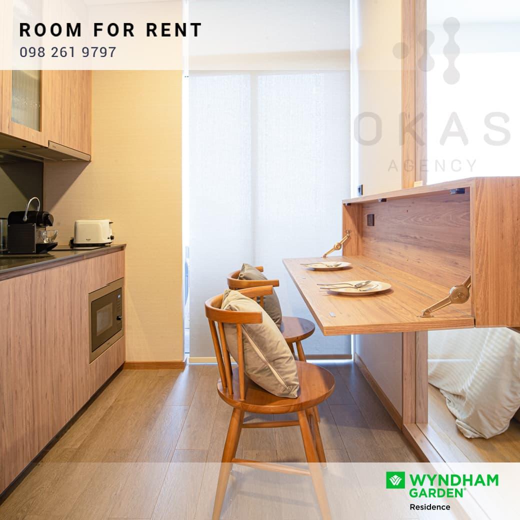 ด่วน! ให้เช่าคอนโดสไตล์โรงแรมติด BTS เอกมัย พร้อมโปรพิเศษ Wyndham Garden Residence Sukhumvit 42 ✨