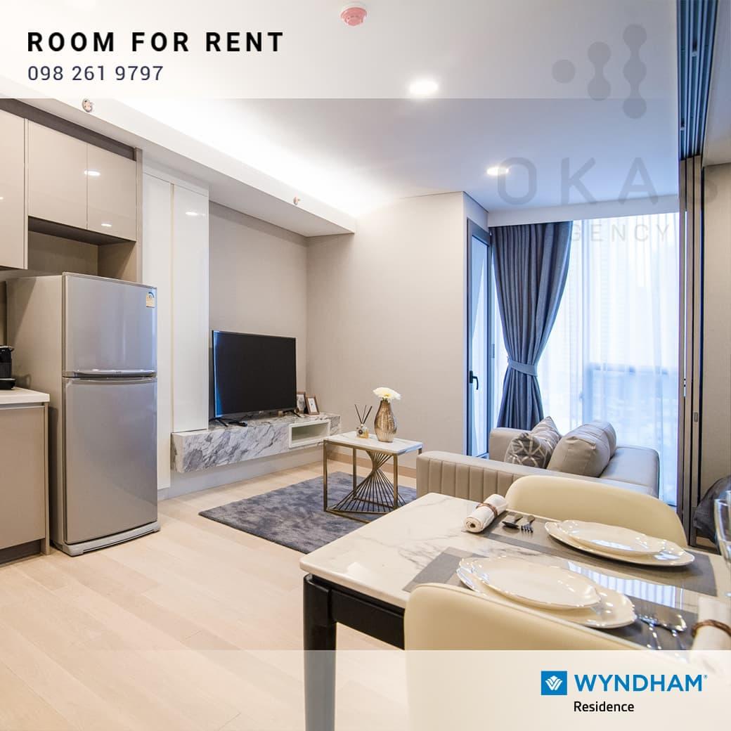 ✨ ให้เช่า! คอนโดสไตล์โรงแรมติด MRT ศูนย์สิริกิตติ์ พร้อมโปรพิเศษ  Wyndham Residence Sukhumvit 16 ✨