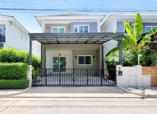 ภาพขายบ้านแฝด ชวนชื่น พาร์ค อ่อนนุช-วงแหวน (Chuan Chuen Park Onnut-Wongwaen) อารมณ์บ้านเดี่ยว พร้อมอยู่