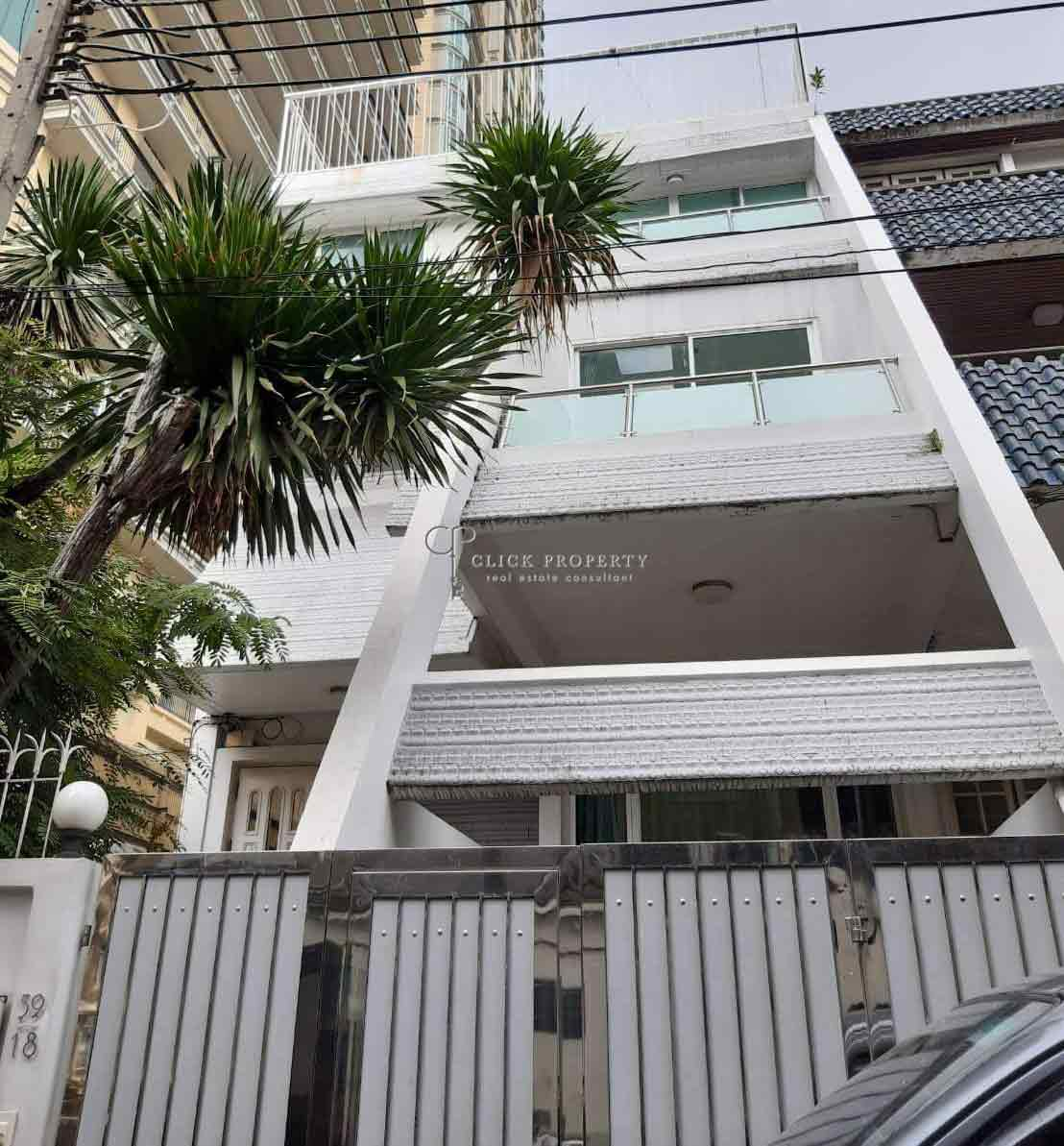 ✦6beds 4baths✦ FOR RENT Townhome 4.5ชั้น @ Sukhumvit soi 31 Next to Royce Condominium | ให้เช่า บ้าน