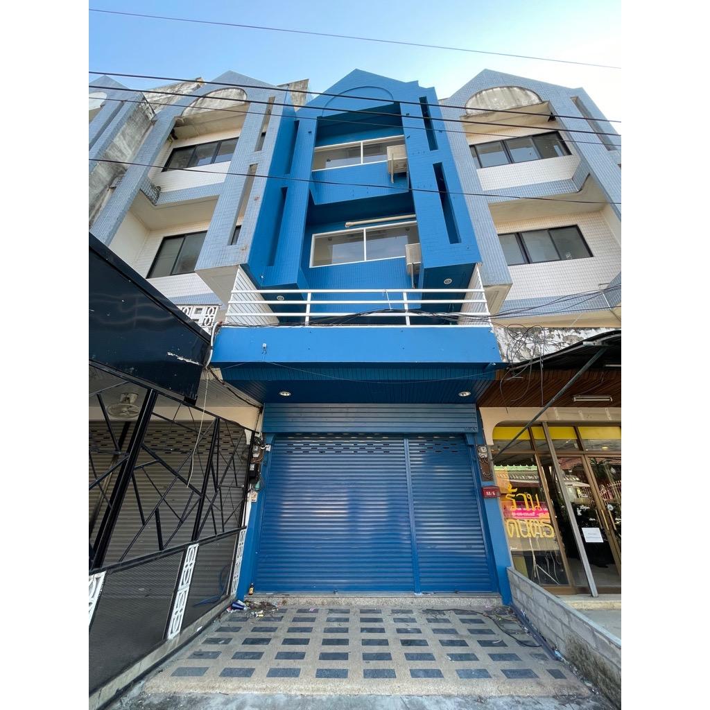ขายตึกในตัวเมืองเชียงราย 3 ชั้นครึ่ง+ดาดฟ้า