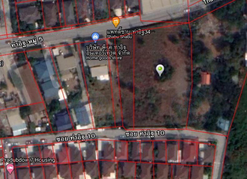 ให้เช่า ที่ดินเปล่า ท่าอิฐ ถนนราชพฤกษ์ ท่าอิฐ ปากเกร็ด นนทบุรี