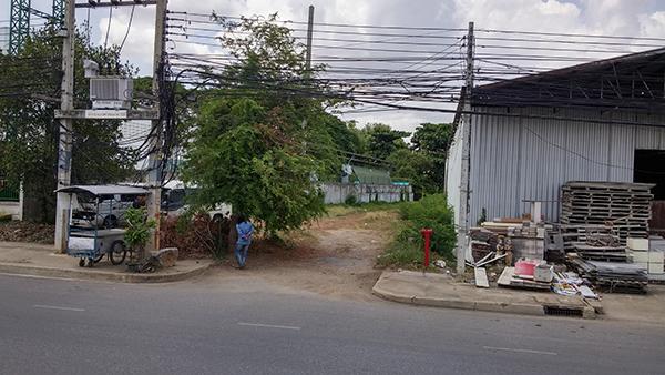 ขายที่ดินสวย ราคาดี ติดถนนแสงชูโต ในตัวเมืองกาญจนบุรี