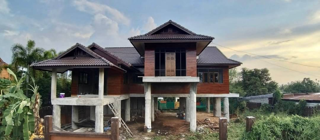 ขายบ้านเดี่ยว 2 ชั้นพัทยา  บ้านขายถูกใกล้เสร็จแล้ว ราคาขาย 3.9 ล้านบาท