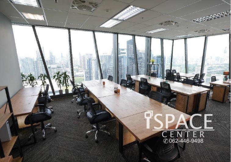 ให้เช่าสำนักงานออฟฟิศ (Private Office) ติด MRT พระราม9 ห้องเล็กสุดเริ่มต้นที่ 20,000 บาท
