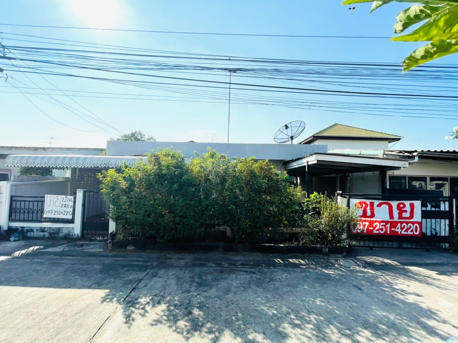 บ้านเดี่ยว งามวงศ์วาน-แคราย ใกล้ศูนย์ราชการนนทบุรี ซอยติวานนท์25แยก4 ทำเลดีเข้าซอยไม่ลึก