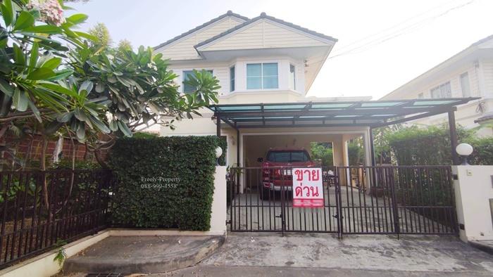 ขาย บ้านเดี่ยว สภาพนางฟ้า แปลงมุม สีวลี-สุวรรณภูมิ 53ตร.ว พร้อมเฟอร์
