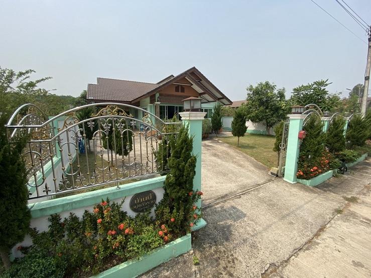 ขายด่วน  บ้านเดี่ยว 114 ตารางวา พร้อมอยู่ หมู่บ้านน่านเจ้า เมืองน่าน