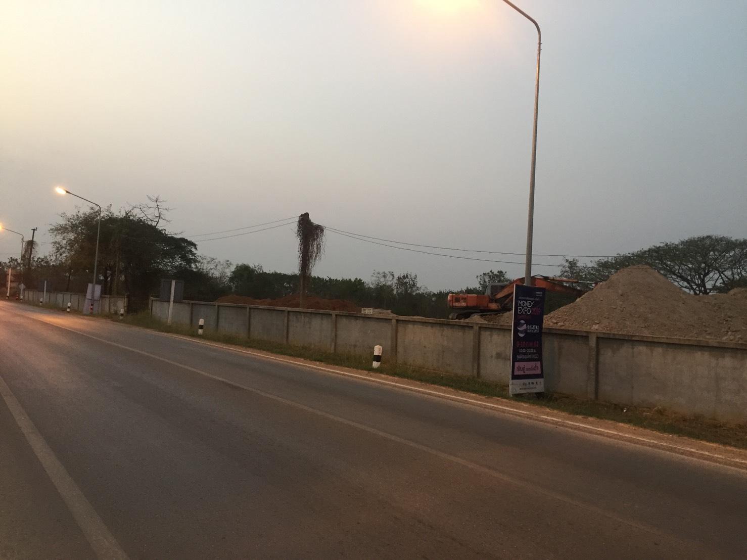 ขายที่ดินถมแล้วติดถนนเลี่ยงเมืองขอนแก่น