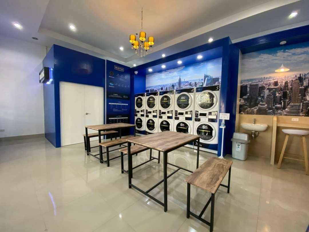 #หลุดจอง เซ้ง‼️ร้านสะดวกซัก-อบ Cityhome รัชดา-ปิ่นเกล้า2 ชั้น 1 @บางอ้อ กทม
