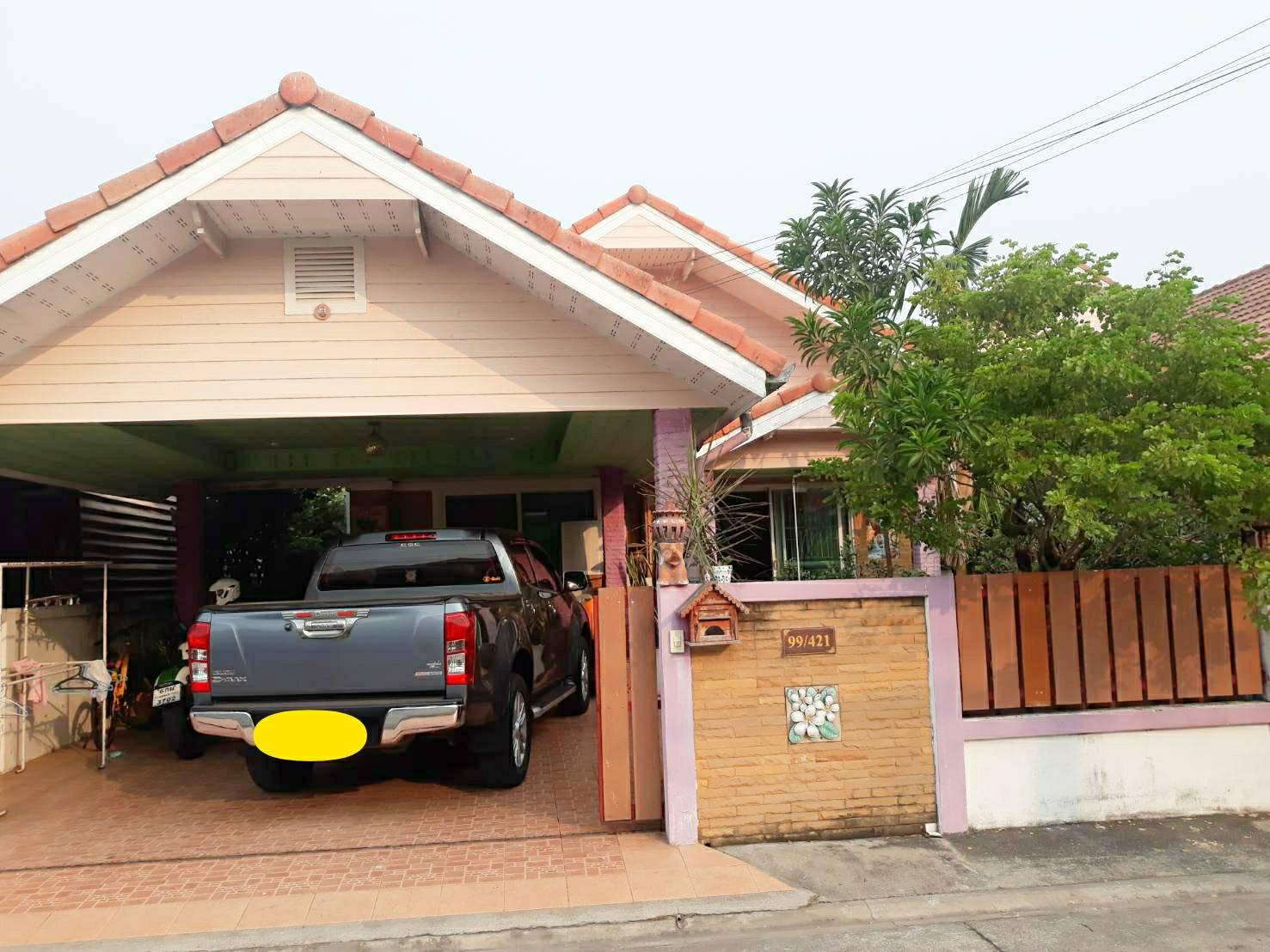 ขายบ้านเดี่ยว ชั้นเดียว หมู่บ้านเครือวัลย์พาร์ค-สุวรรณภูมิ ซอยสุวินทวงศ์64