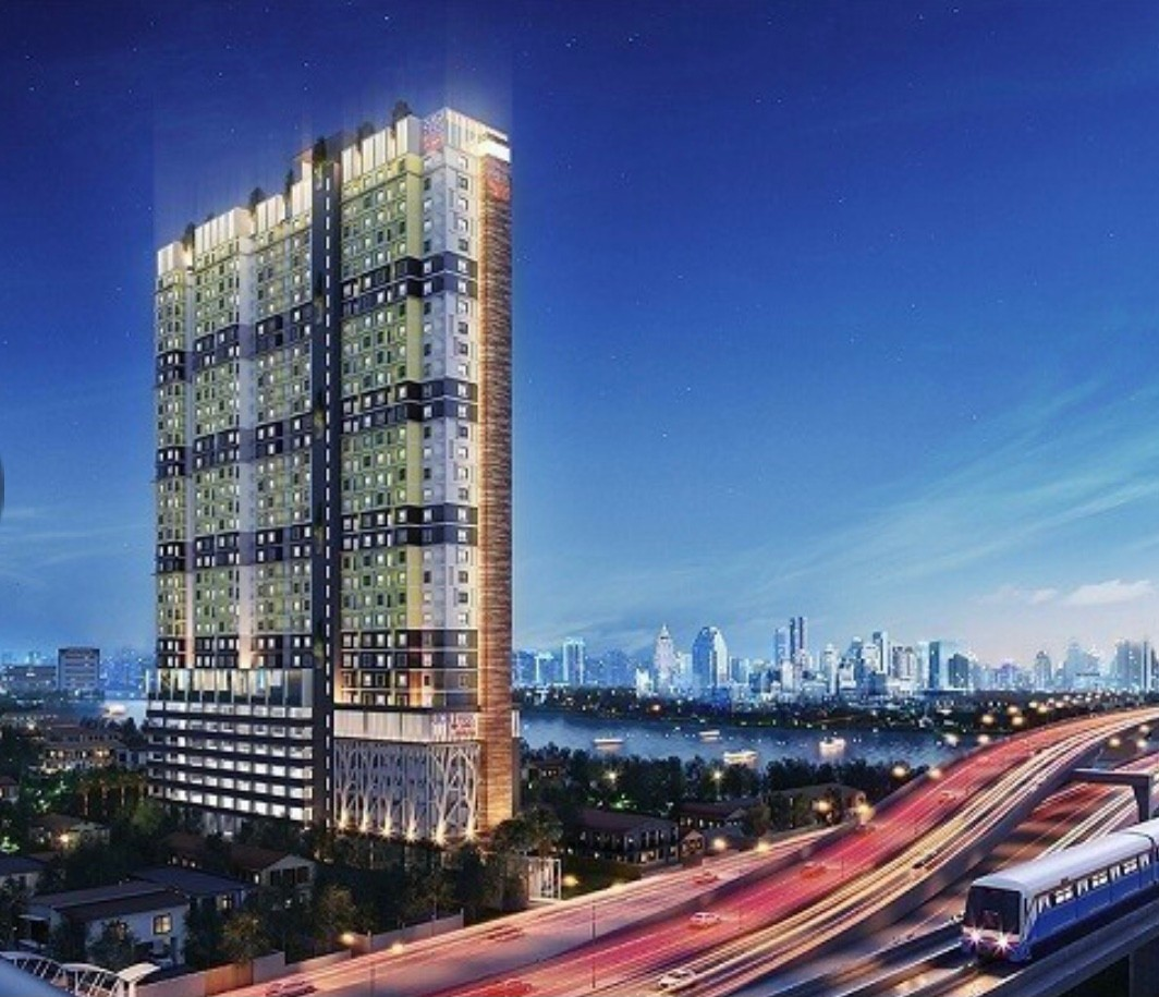 ภาพขายคอนโด Rich Park @Chaophraya (ริชพาร์ค แอท เจ้าพระยา) - วิวแม่น้ำเจ้าพระยา