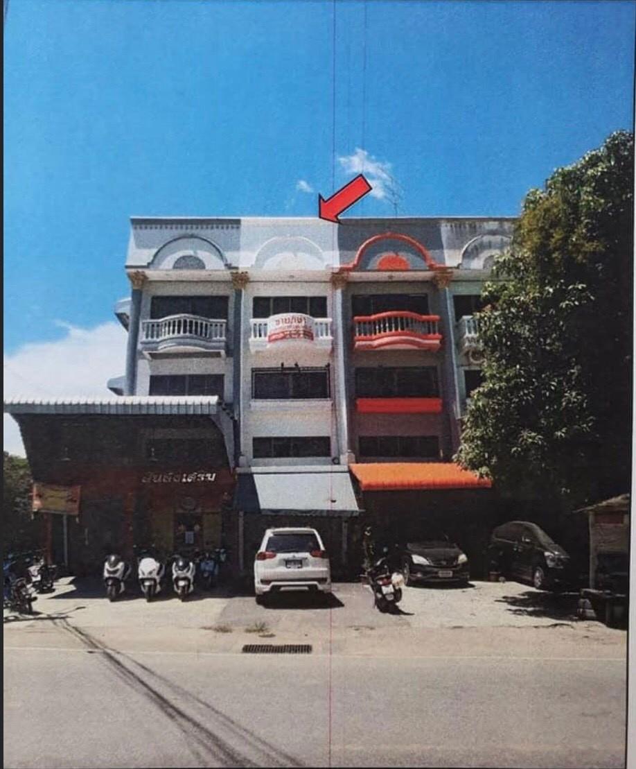 อาคารพาณิชย์ 3 ชั้น พร้อมชั้นลอย  1 คูหา หนองแขม – ติดถนนเลียบคลองภาษีเจริญฝั่งใต้