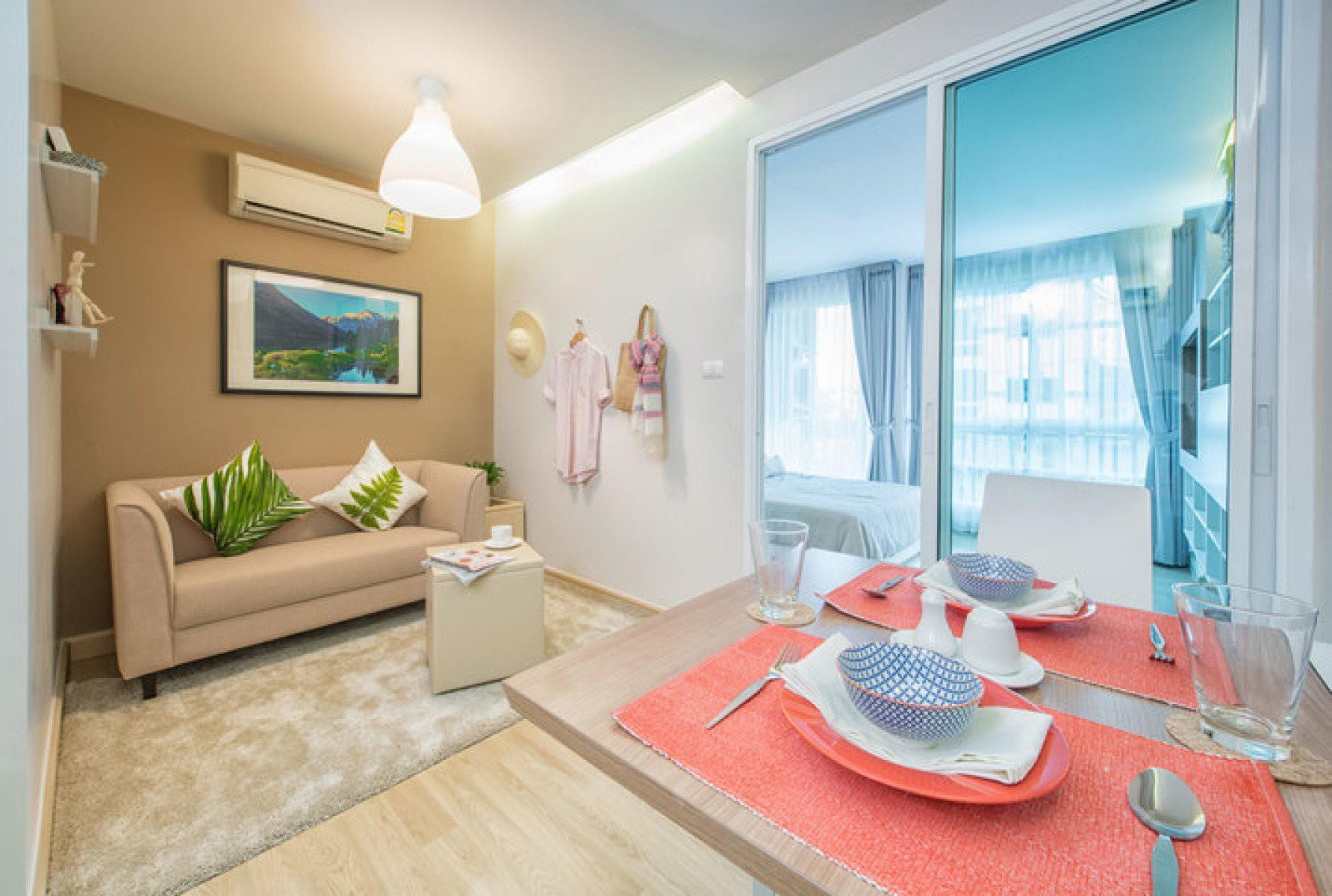 เอมเมอรัลด์ เรสซิเด้นซ์ - 1 ห้องนอน ห้องใหม่มือหนึ่ง - เช่า 11,000 บาท - ขาย 3 ล้านบาท