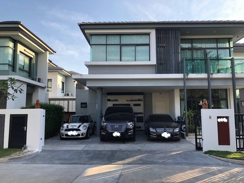 ขายบ้านเดี่ยวเศรษฐสิริ ศรีนครินทร์ – พระราม 9 Setthasiri Srinakarin – Rama 9 หลังมุมติดสวน 14.7 ล้าน
