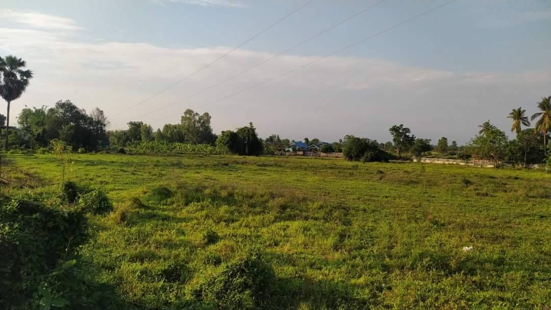 ขาย ที่ดิน 7ไร่ 3งาน 48ตารางวา เจ้าของขายเองครับ (โฉนด ครุทแดง นส.4) ขายที่ดินสวยโล่งๆ วิ่วดี บรรยาก