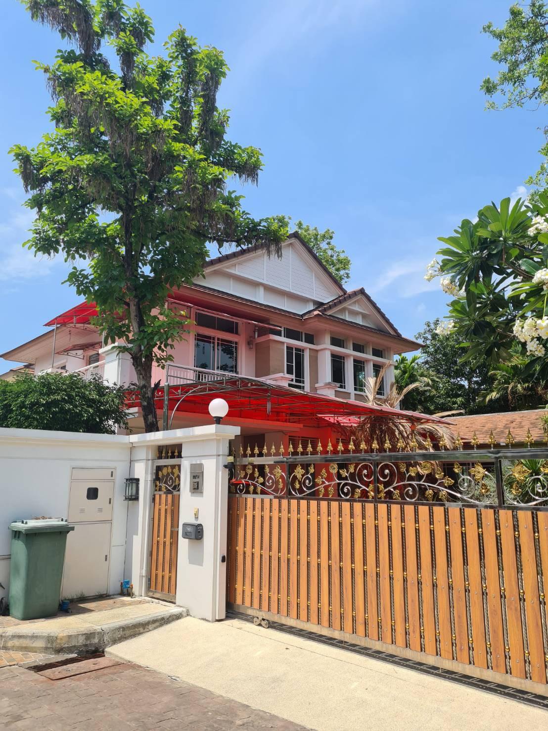 ขายบ้านเดี่ยวสุดหรู 2 ชั้น หมู่บ้านนันทวัน แจ้งวัฒนะ - ราชพฤกษ์ (Baan Nanthawan Chaengwattana-Ratcha