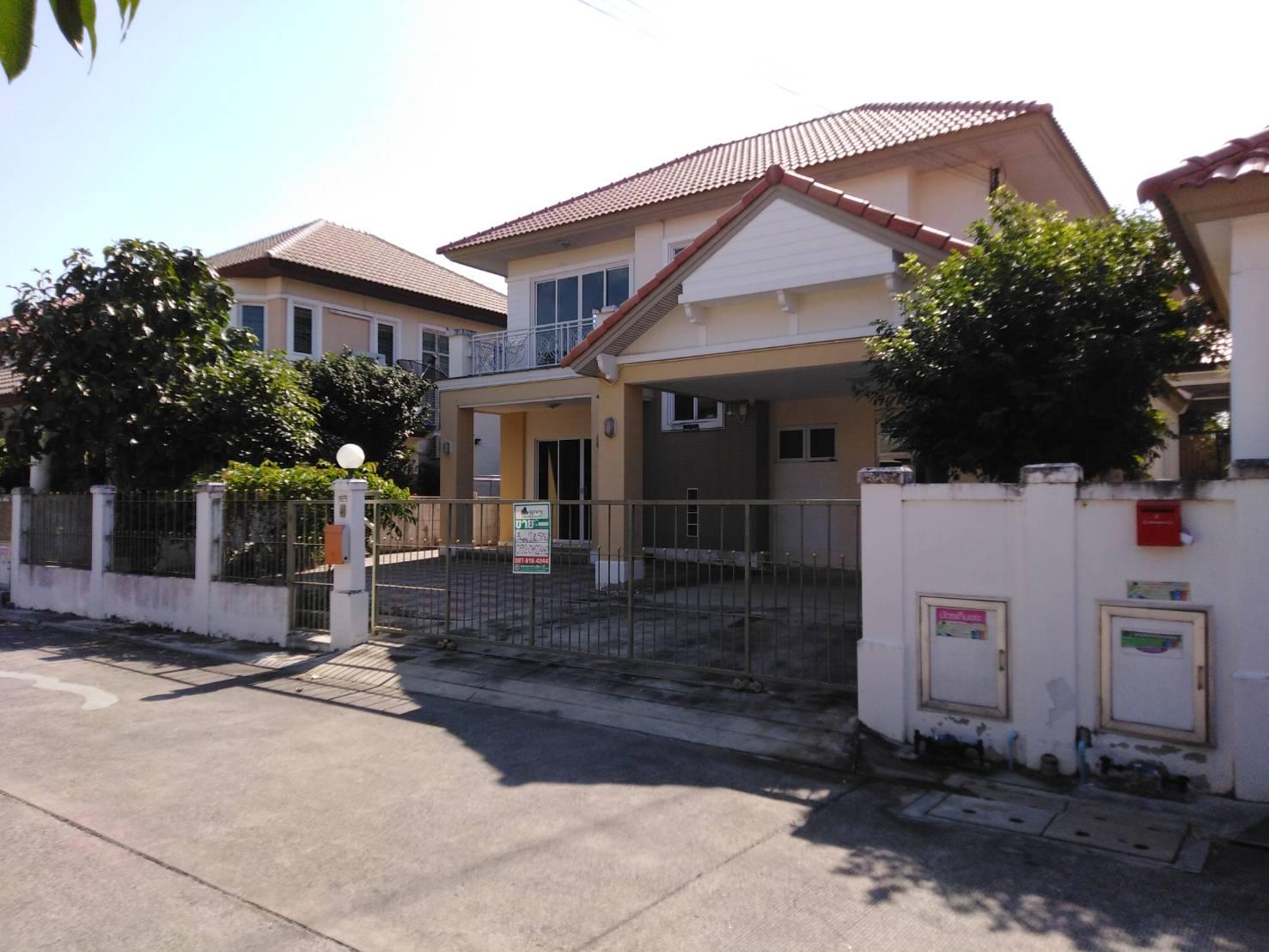 74955 - ขายด่วน!! บ้านเดี่ยว ชวนชื่นบรู๊คไซด์ ตำบลบางคูวัด อำเภอเมืองปทุมธานี จังหวัดปทุมธานี