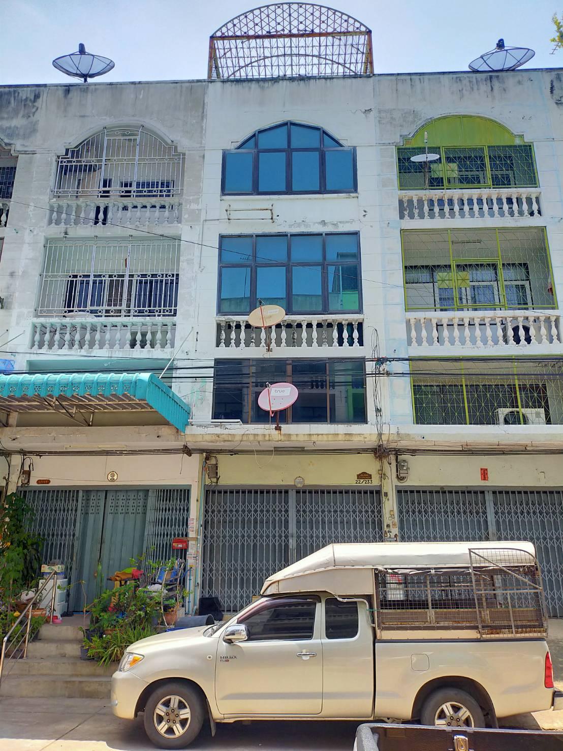 ภาพขายตึกแถว ซอยเอกชัย 66 ใกล้ตลาดสามแยกบางบอน ราคาถูกมาก