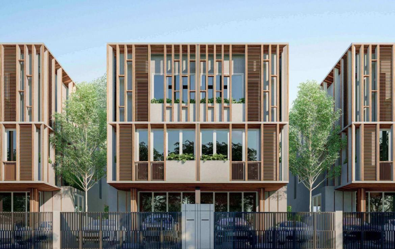 โครงการบ้านแฝด สร้างใหม่ ทำเลดี ใกล้ Mrtห้วยขวาง-สุทธิสาร