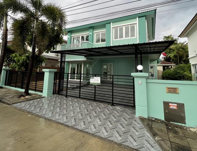 ขายบ้านเดี๋ยว 2 ชั้น โครงการ คาซ่าวิลล์ 2 ขนาด 50.6 ตารางวา 3 ห้องนอน 3 ห้องน้ำ หน้าบ้านหันทิศเหนือ