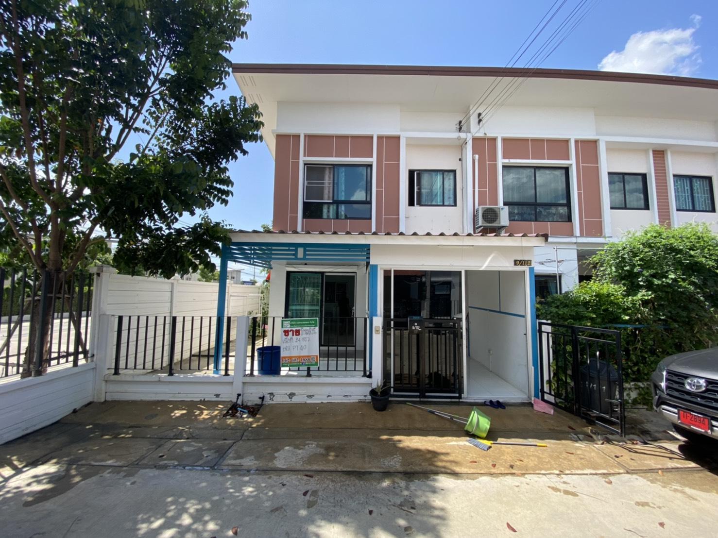 ภาพขายทาวน์เฮ้าส์เจ ทาวน์ รังสิต คลอง 1 J Town Rangsit Khlong 1